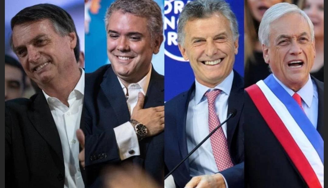 La destra latinoamericana in azione