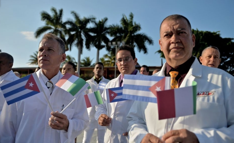 A proposito del voto italiano all'ONU riguardo l'acquisto di medicinali e materiali contro il corona virus da parte del governo cubano