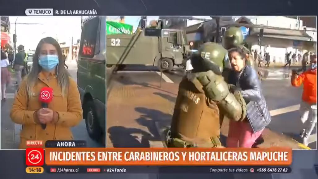 #Cile, Temuco, forze speciali contro la popolazione