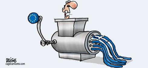 Grecia: dal saccheggio al latrocinio