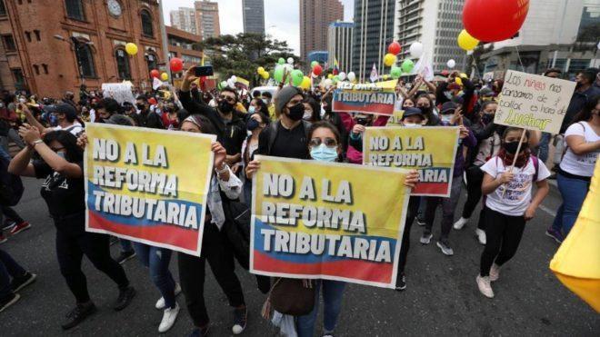 Colombia: il braccio di ferro